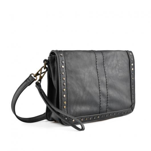Черна дамска ежедневна чанта Nevya