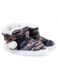 дамски пантофи шарени Kamala в online магазин Fashionzona