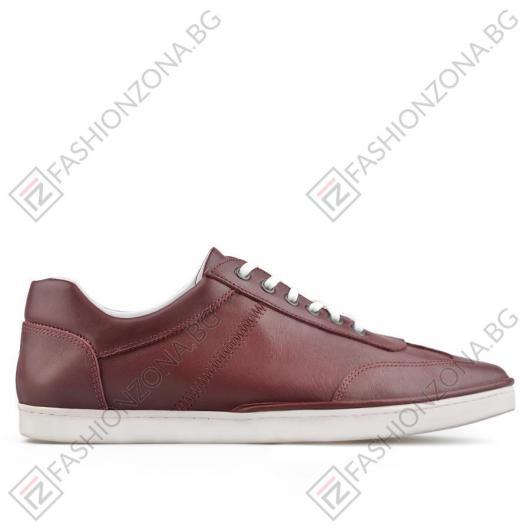 Червени мъжки ежедневни обувки Efraim