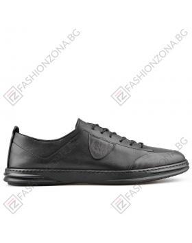 Черни мъжки ежедневни обувки Isaias в online магазин Fashionzona