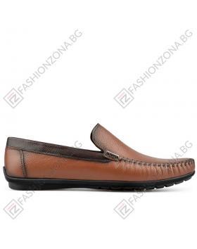 Кафяви мъжки ежедневни обувки Feliciano в online магазин Fashionzona