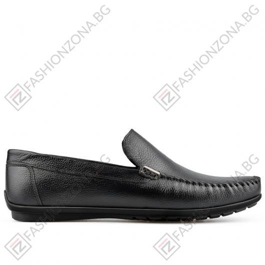 Черни мъжки ежедневни обувки Alejandrino