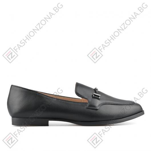 Черни дамски ежедневни обувки Odra