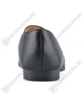 Черни дамски ежедневни обувки Odra в online магазин Fashionzona