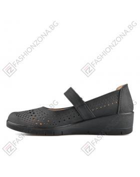Черни дамски ежедневни обувки Drina в online магазин Fashionzona