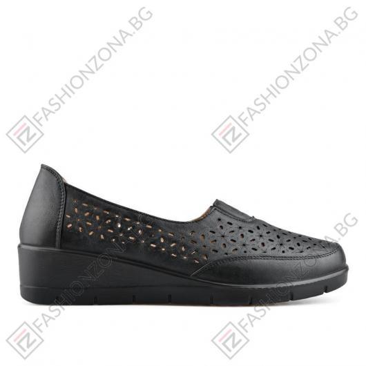 Черни дамски ежедневни обувки Vohnda