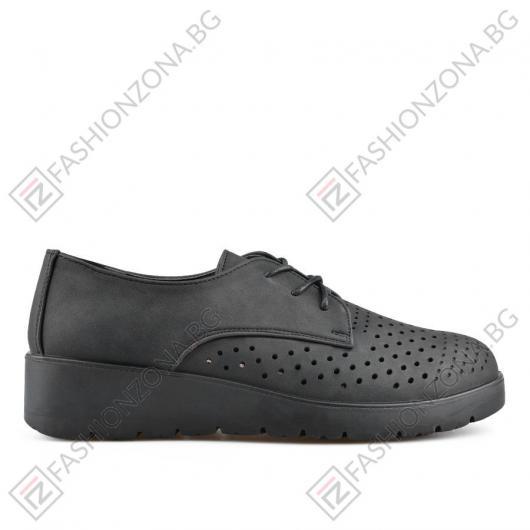 Черни дамски ежедневни обувки Bryar