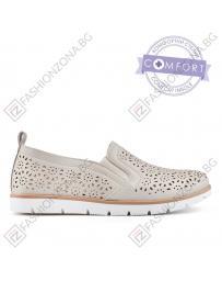 Бежови дамски ежедневни обувки 0136630 Ginny