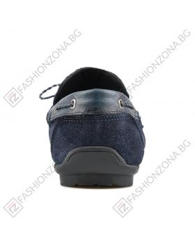 Сини мъжки ежедневни обувки Amato в online магазин Fashionzona