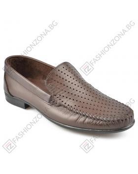 Кафяви мъжки ежедневни обувки Tavaris в online магазин Fashionzona