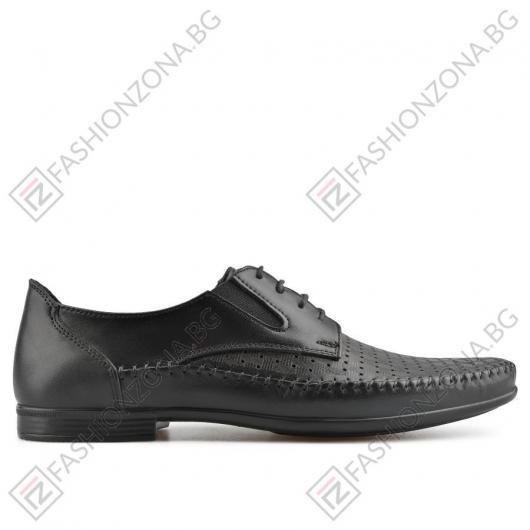 Черни мъжки ежедневни обувки Canyon
