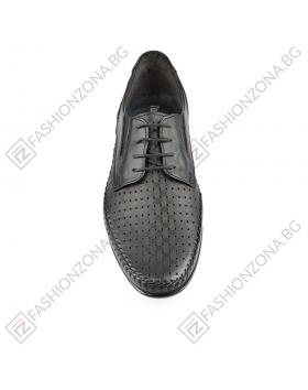 Черни мъжки ежедневни обувки Canyon в online магазин Fashionzona