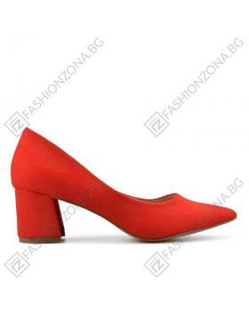 Червени дамски елегантни обувки Enna в online магазин Fashionzona