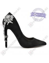 Черни дамски елегантни обувки Dolly в online магазин Fashionzona