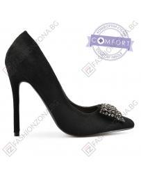 Черни дамски елегантни обувки Sherryse в online магазин Fashionzona