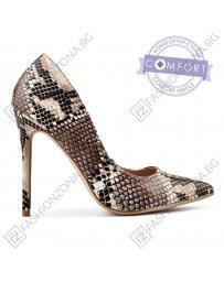 Кафяви дамски елегантни обувки 0137464
