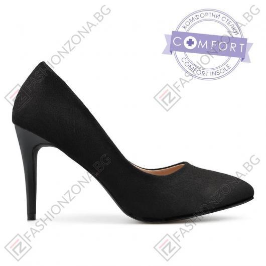 78b478441c3 Черни дамски елегантни обувки Ellaine ⋙ на цена 32,22 лв — Fashionzona