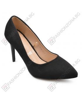 Черни дамски елегантни обувки Ellaine в online магазин Fashionzona