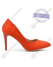 Оранжеви дамски елегантни обувки Ornette