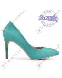 Сини дамски елегантни обувки Aileen в online магазин Fashionzona