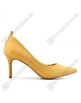 Жълти дамски елегантни обувки Gayle в online магазин Fashionzona