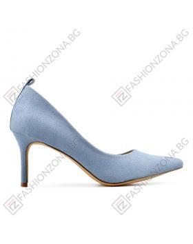 Сини дамски елегантни обувки Bellanca в online магазин Fashionzona