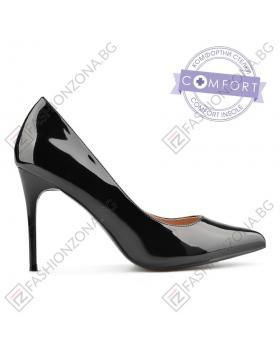 Черни дамски елегантни обувки Annalisa в online магазин Fashionzona