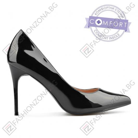 Черни дамски елегантни обувки Annalisa