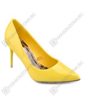 Жълти дамски елегантни обувки Jodi в online магазин Fashionzona