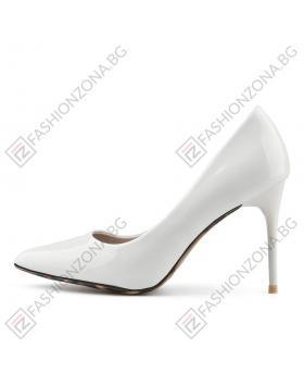 Бели дамски елегантни обувки Alfredo в online магазин Fashionzona