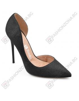 Черни дамски елегантни обувки Hala в online магазин Fashionzona