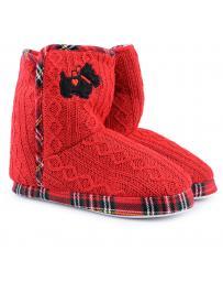 дамски пантофи червени 0125267