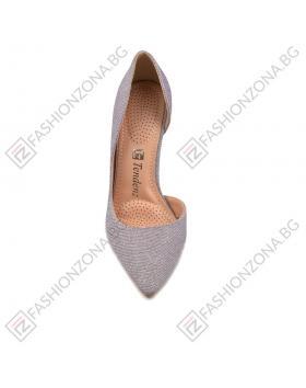 Лилави дамски елегантни обувки Elana в online магазин Fashionzona