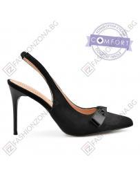 Черни дамски елегантни сандали Ysbella