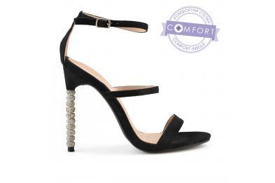 Черни дамски елегантни сандали 0137572 Palita