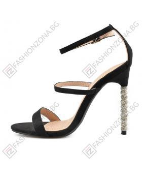 Черни дамски елегантни сандали Palita в online магазин Fashionzona