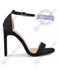 Черни дамски елегантни сандали Briet