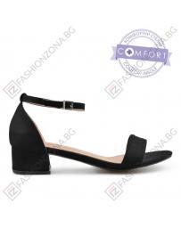 Черни дамски елегантни сандали Jacklynne