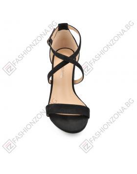 Черни дамски елегантни сандали Merlyn в online магазин Fashionzona
