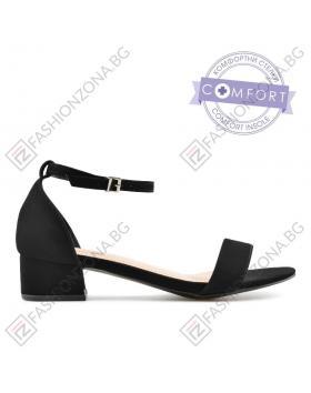 Дамски черни ежедневни сандали Edmee в online магазин Fashionzona