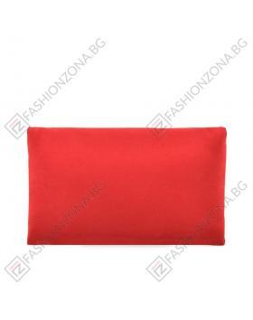 Дамска червена елегантна чанта Lee в online магазин Fashionzona