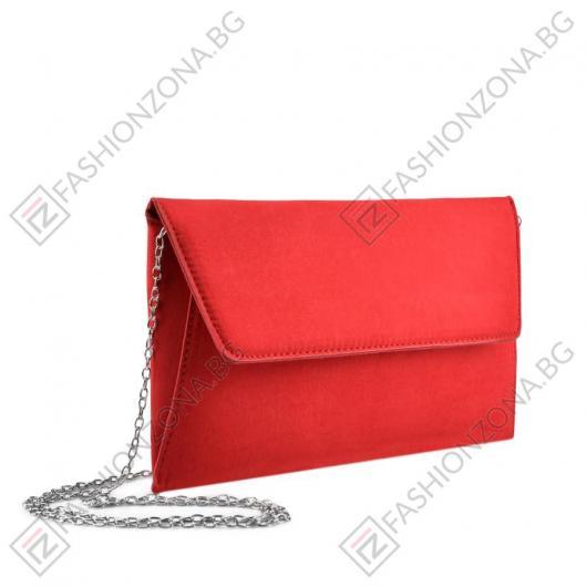 Дамска червена елегантна чанта Lee