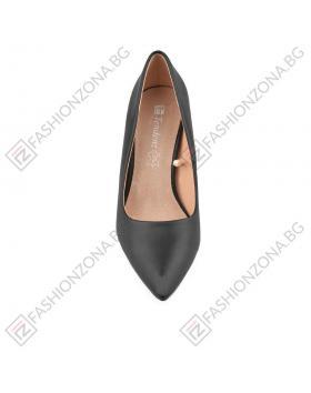 Черни дамски елегантни обувки Lindalee в online магазин Fashionzona