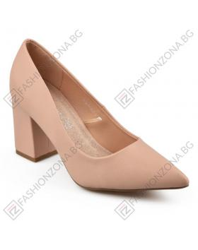 Бежови дамски елегантни обувки Hadassah в online магазин Fashionzona