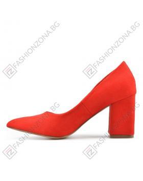 Червени дамски елегантни обувки Bedelia в online магазин Fashionzona