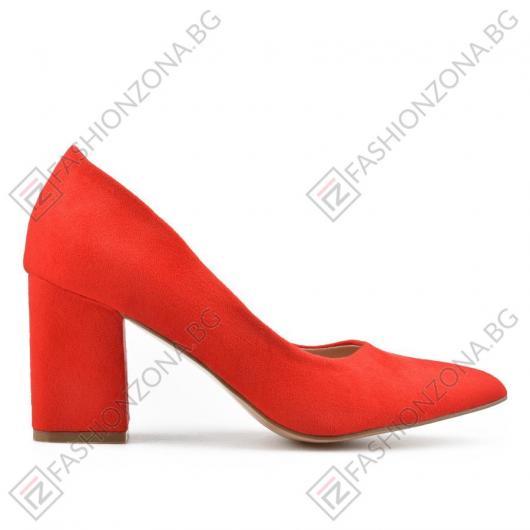 Червени дамски елегантни обувки Bedelia