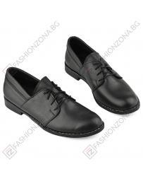 Черни дамски ежедневни обувки 292 black Abelia