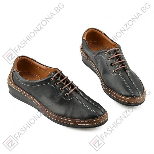 Черни дамски ежедневни обувки Yvo