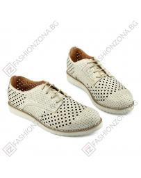 Бежови дамски ежедневни обувки Cheerish в online магазин Fashionzona