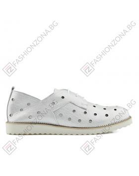 Сребристи дамски ежедневни обувки Graycen в online магазин Fashionzona